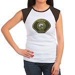 Perris Police Women's Cap Sleeve T-Shirt