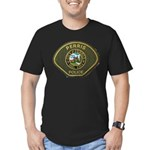 Perris Police Men's Fitted T-Shirt (dark)