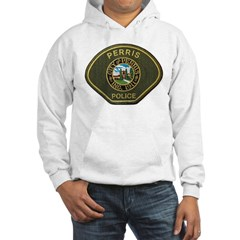 Perris Police Hooded Sweatshirt