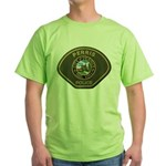 Perris Police Green T-Shirt