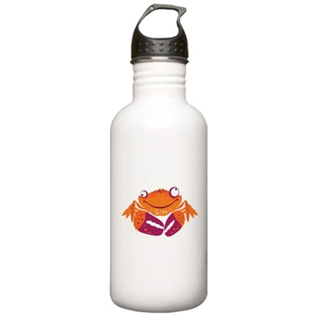 Funny Crab Stainless Water Bottle 1.0L