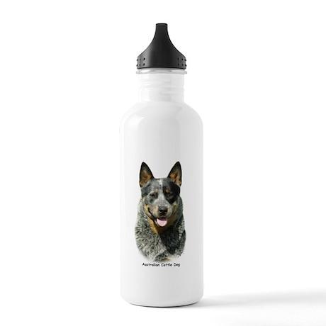 Australian Cattle Dog 9F061D-03 Stainless Water Bo