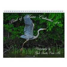 Birds of Maine 2 Wall Calendar