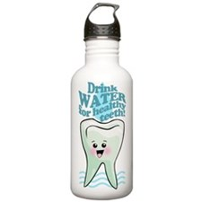 Funny Dentist Office Sports Water Bottle
