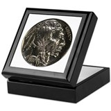 Buffalo Nickel Obverse Keepsake Box
