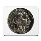 Buffalo Nickel Obverse Mousepad