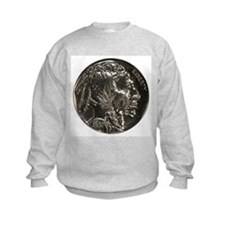 Buffalo Nickel Obverse Sweatshirt