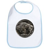 Buffalo Nickel Reverse Bib