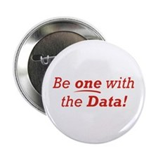 "One / Data 2.25"" Button (100 pack)"