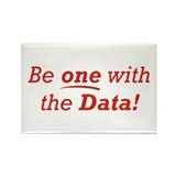 One / Data Rectangle Magnet (10 pack)