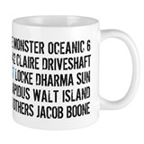 LOST Names Small Mug