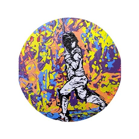 """Psychedelic Foil"" 3.5"" Button (100 pack)"