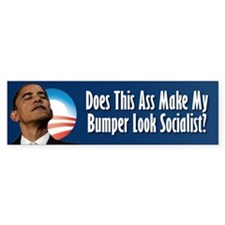 Obama Ass Sticker Bumper Sticker