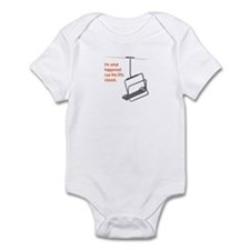 Snowsports Closed - Infant Bodysuit (Orange)