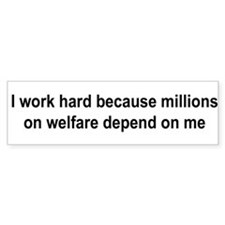 Funny Depends Bumper Sticker