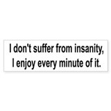 Cute Suffer Bumper Sticker