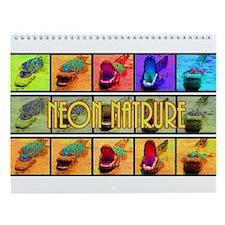 Neon Nature Wall Calendar