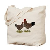 Speckled Sussex Chickens Tote Bag