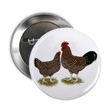 "Speckled Sussex Chickens 2.25"" Button (10 pac"