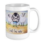 Just be Ewe Large Mug