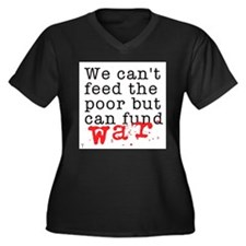 We can't feed the poor but can fund war Women's Pl