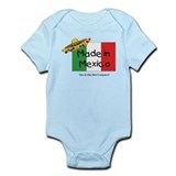 Made in Mexico Onesie
