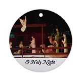 Oh holy night Ornament (Round)
