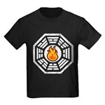 Dharma Flame Kids Dark T-Shirt