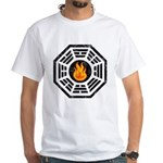 Dharma Flame White T-Shirt