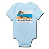 Made in Mexico - beach Onesie