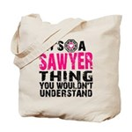Sawyer Thing Tote Bag