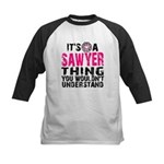 Sawyer Thing Kids Baseball Jersey