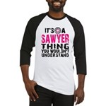 Sawyer Thing Baseball Jersey