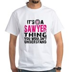 Sawyer Thing White T-Shirt