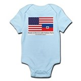 Made in America with Haitian Infant Bodysuit