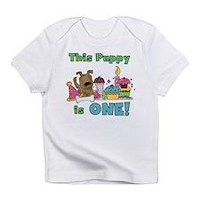 1st Puppy Birthday Infant T-Shirt