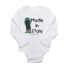 Made in Italy - Pisa Long Sleeve Infant Bodysuit