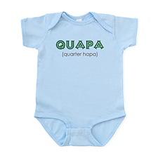 Quapa (quarter Hapa) Infant Body Suit