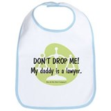 Daddy Lawyer Bib