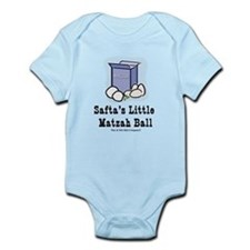 Safta's Little Matzah Ball Infant Bodysuit