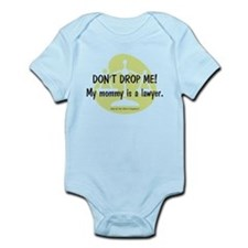 Don't drop me! My mommy is a lawyer. Onesie