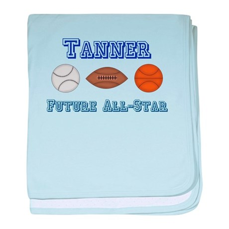 Tanner - Future All-Star baby blanket