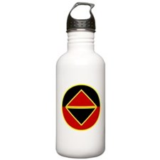 Funny Raven's knight industries Water Bottle