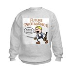 Elan: Future Protagonist Kids Sweatshirt