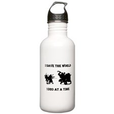 Save the World Water Bottle