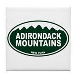 Adirondack Mountains Tile Coaster