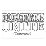 Procrastinators Postcards (Package of 8)