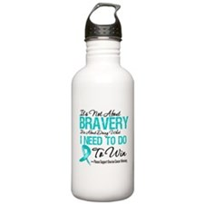 Ovarian Cancer Bravery Sports Water Bottle