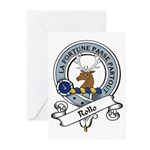 Rollo Clan Badge Greeting Cards (Pk of 10)