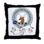 Rollo Clan Badge Throw Pillow